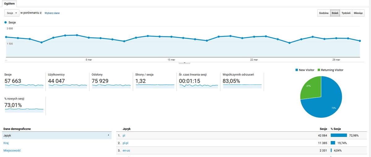 Analytics - przykład